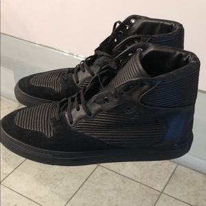 Balenciaga Monochromatic High Top Sneakers